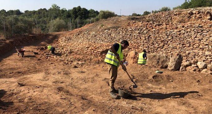 Almassora contracta la nova excavació en el Torrelló davant indicis de noves restes