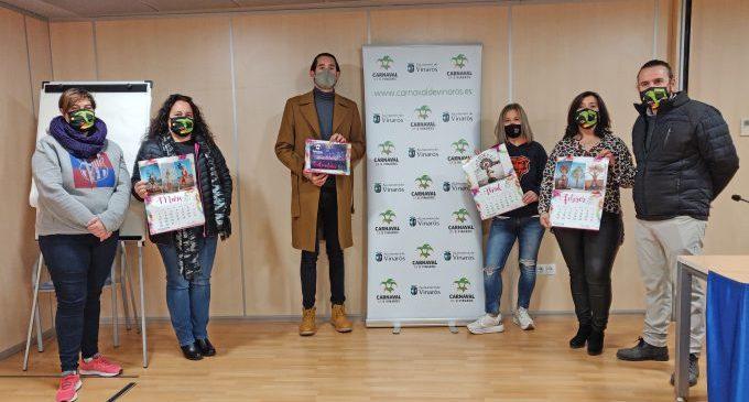 L'Ajuntament de Vinaròs dona suport al calendari solidari del Carnaval 2021