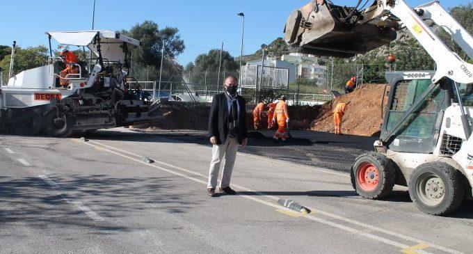 Benicàssim suma 60 places d'estacionament en la zona nord al costat del nucli urbà