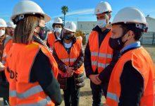 El conseller Marzà visita les obres del col·legi Jaume I