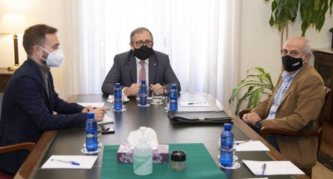 La Diputació i la FVMP crearan a Castelló una oficina tècnica de suport als ajuntaments per a la tramitació de projectes europeus