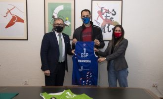 José Martí i Tania Baños mostren el seu suport a Pablo Herrera en el seu camí cap a Tòquio 2021