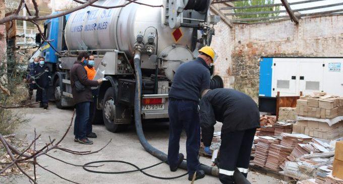 Onda descontamina l'històric abocament de fuel de la Campaneta i soluciona el problema de filtracions