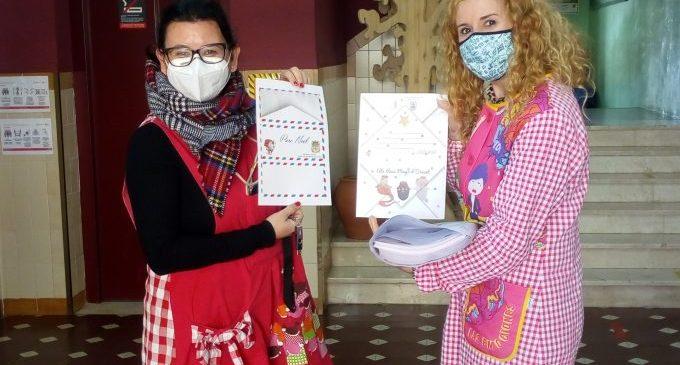 Nules promociona el valencià entre els escolars repartint cartes per als Reis Mags i Pare Noel
