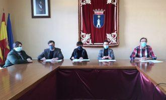 L'equip de govern de la Vall d'Uixó i Ciutadans arriben a un acord per a tirar avant els pressupostos de 2021