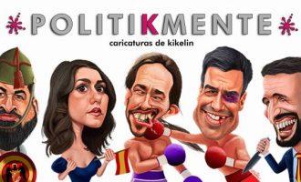 La Sala Escena de Benicàssim presenta l'exposició de caricatures 'Politikmente'