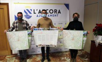 Actualitzen el mapa de senders de l'Alcora amb importants millores i novetats