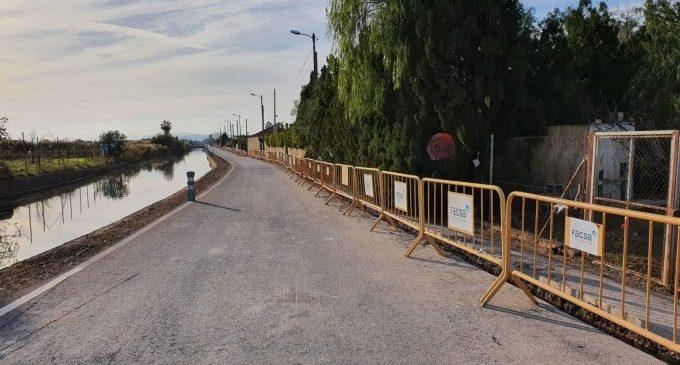Nules finalitza els treballs de renovació de la xarxa d'aigua del Camí Canal
