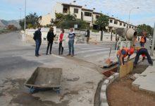 Benicàssim trabaja en la zona sur para dar solución a puntos conflictivos en épocas de lluvia