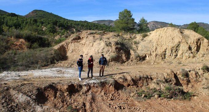 En marxa els treballs d'adequació d'una parcel·la a Araia per a ús recreatiu i esportiu a l'Alcora