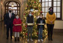 La Diputació de Castelló fa entrega dels premis del concurs provincial de postals nadalenques