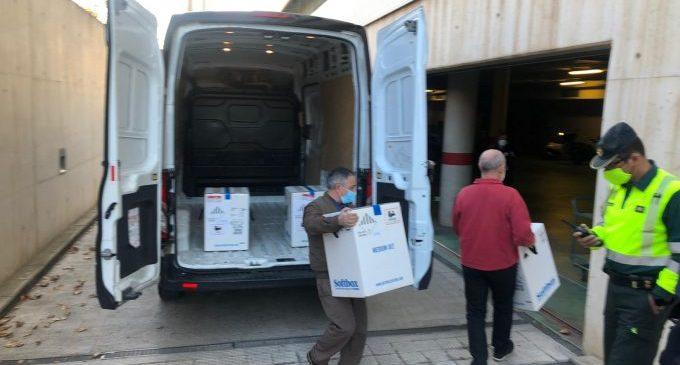 La vacuna arriba a noves residències castellonenques en la segona jornada de vacunació contra la COVID-19