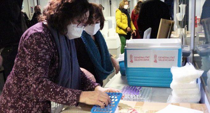 La Comunitat Valenciana inicia la vacunació contra la Covid-19 en set residències de majors