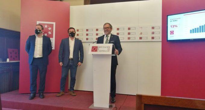 """La Diputació tindrà un pressupost """"històric per a un moment històric"""" amb 168,3 milions en 2021"""