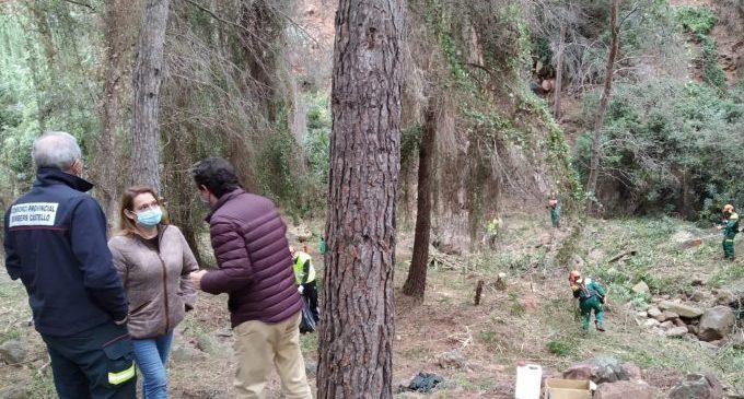 Benicàssim continua amb el pla d'accions de mitigació per a la prevenció d'incendis forestals