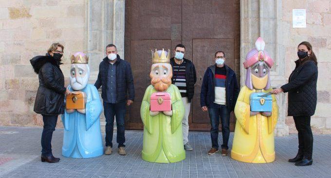 Borriana involucra els artistes fallers en el Nadal de la ciutat