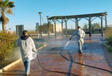 L'Ajuntament d'Almenara continua desinfectant els carrers dels nuclis urbans i marítim