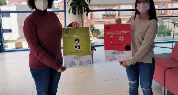Almenara realitza una campanya fomentant els joguets no sexistes