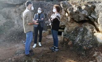 """Comencen les jornades de portes obertes del """"blocaus del camí del castell"""" d'Aalmenara"""