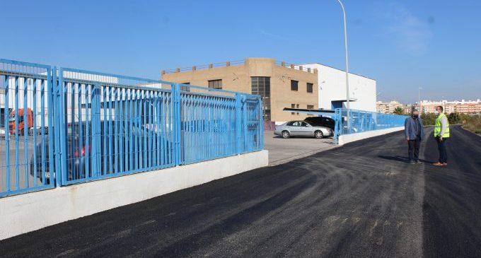 Borriana crea un aparcament per a uns 100 vehicles en el polígon industrial del camí Fondo
