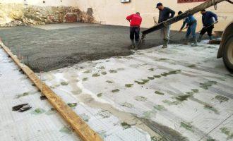 Almenara remodela i millora el pati infantil del col·legi