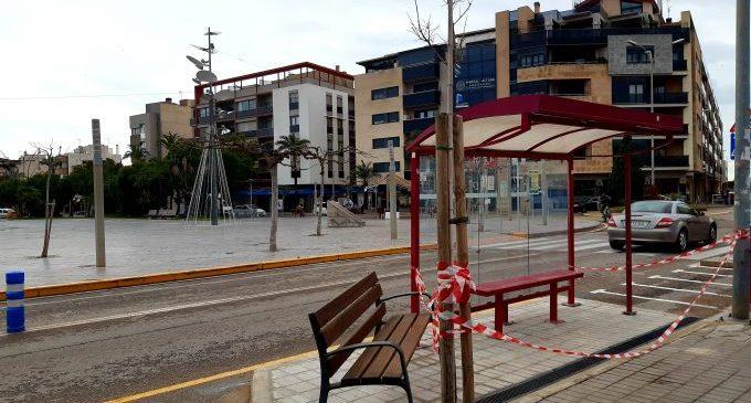 Lunes entrará en servicio la nueva parada de autobús de la calle del Pintor Sorolla en Benicarló
