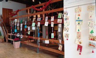 El Molí d'Arròs acull la mostra de postals nadalenques d'Almenara