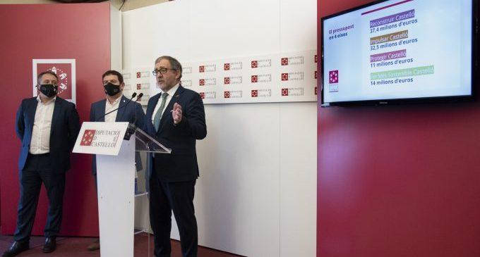 Diputación destinará 14 millones de euros para cuidar de los recursos naturales de la provincia y avanzar en la transición ecológica
