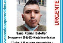 Desaparegut un jove de Castelló des de fa una setmana