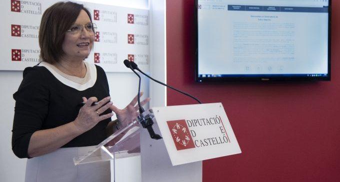 La Diputación de Castellón muestra su portal de datos abiertos en la serie de webinars sobre Transparencia que ha organizado junto a la Generalitat Valenciana