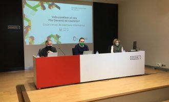 Castelló aborda el nou model de ciutat verda i compacta en el segon webinar del Pla General