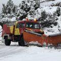 La Diputación y el Consorcio de Bomberos instan a no salir a la carretera ante la preemergencia de nivel rojo por nevadas