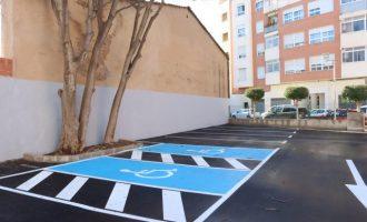 Onda acondiciona el parking de Alfons El Magnànim y la calle del Monte Carmelo tras petición vecinal