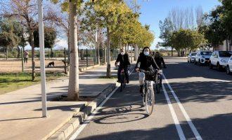 Almassora reserva 60.000 euros del presupuesto de 2021 para conectar el cordón urbano de carril bici