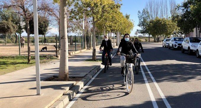 Almassora reserva 60.000 euros per a connectar el cordó urbà de carril bici