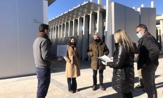 Almassora recepciona las obras de ampliación del cementerio