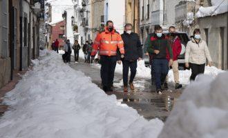 La Diputación estudia una línea de subvenciones para los municipios afectados por la borrasca Filomena