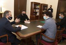 Martí i Remolar estudien com abordar la finalització del Palau-Castell de Betxí