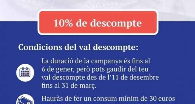La campanya de descomptes del sector hostaler de Vinaròs supera les mil descàrregues