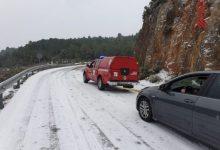 Situació 0 per nevades i suspensió de classes en pobles de Castelló per la borrasca