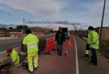 L'Ajuntament de Peníscola inicia les obres d'instal·lació d'enllumenat públic en la carretera Peníscola- Benicarló