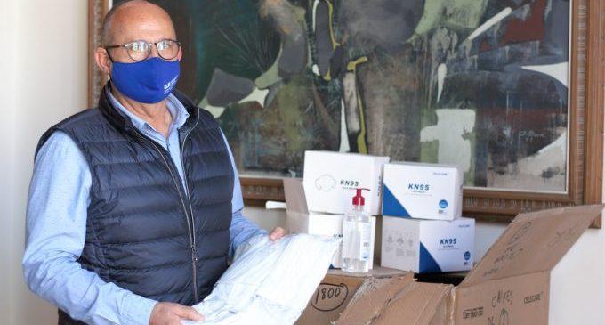Borriana reparteix prop de 12.000 mascaretes en els seus centres educatius