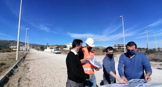 Peníscola inicia les obres de reconstrucció dels accessos a la seua zona sud