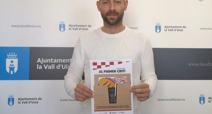 L'Ajuntament de la Vall d'Uixó llança una campanya de suport a l'hostaleria