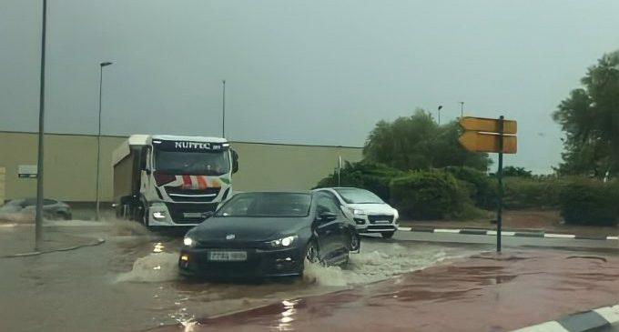 Onda reitera a la Generalitat la urgència d'actuar en la rotonda de Navarti per a evitar accidents en dies de pluja