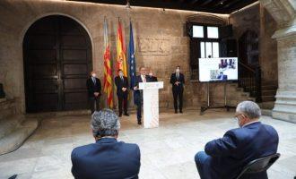 Martí destaca los 18,6 millones de euros del plan de ayudas de la Generalitat para pequeñas empresas y autónomos de la provincia