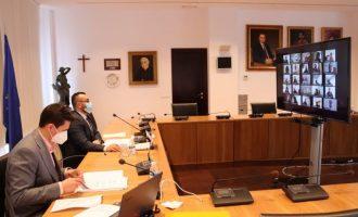Vila-real mostra el suport unànime dels grups polítics al sector de l'hostaleria i l'oci local davant els efectes de la covid-19