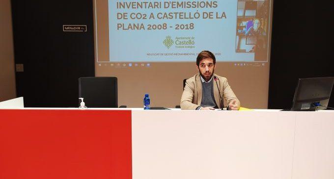 Castelló treballa en el seu Pla d'Acció i la nova adhesió al Pacte d'Alcaldies pel Clima per aspirar a reduir el 40 % d'emissions de CO2 en 2030