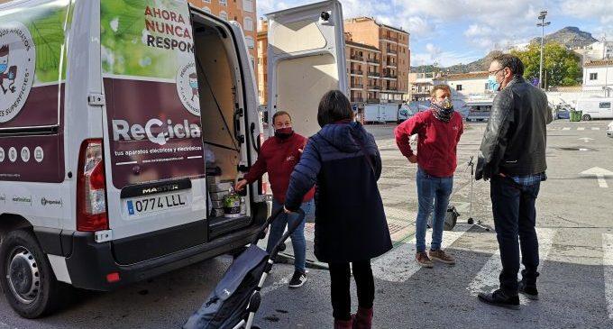 48 aparells elèctrics es reciclaran a la Vall d'Uixó gràcies a la campanya de conscienciació