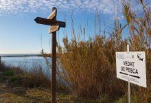 El Consorci gestor del Paisatge Protegit de la Desembocadura del riu Millars instal·la els senyals que adverteixen dels vedats de pesca